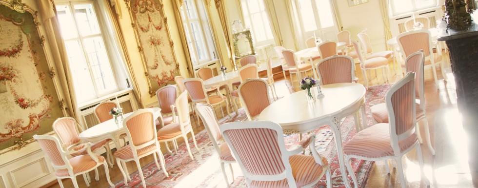 Feiern im Schlosssaal