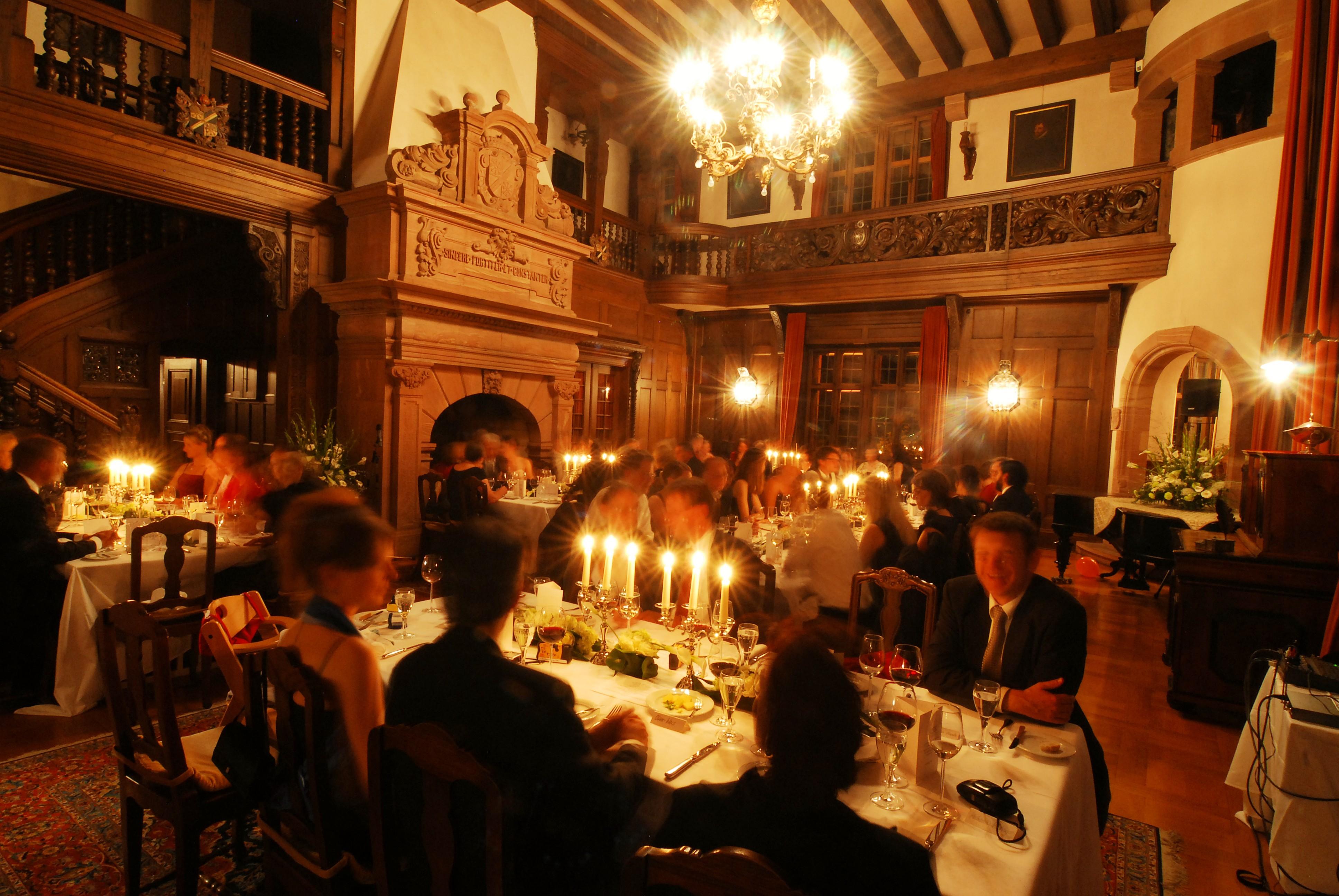 Dinner Schlosshalle kl